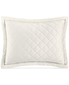 Hotel Collection Trousseau Cotton Quilted Standard Sham, Created for Macy's