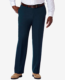Haggar® Men's Big & Tall Classic-Fit Cool 18® PRO Expandable-Waist Dress Pants