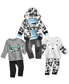 Camo Mix & Match Collection, Baby Boys (0-24 months), Created for Macy's