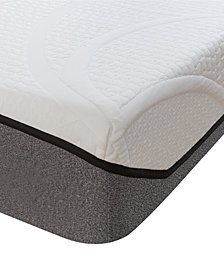 "Sleep Trends Sofia Plush Gel 9"" Mattress, Quick Ship, Mattress in a Box - King"