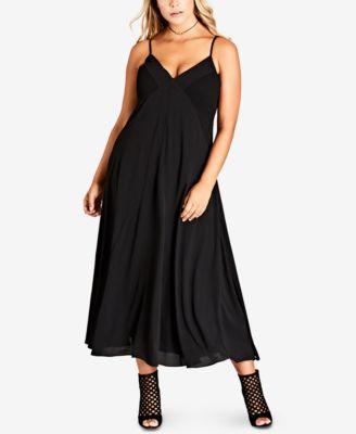 Plus size chic dresses