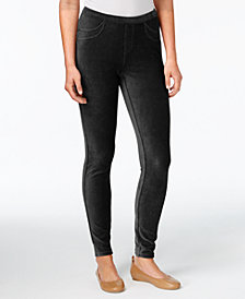 Style & Co Petite Corduroy Leggings, Created for Macy's