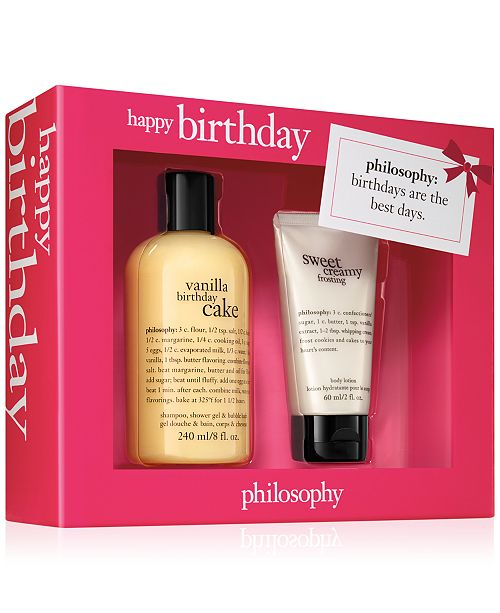 philosophy 2-Pc. Happy Birthday Gift Set