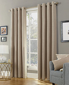 "Sun Zero Baxter 52"" x 63"" Theater Grade Extreme Blackout Grommet Curtain Panel"