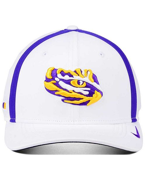 buy popular 1d965 728db ... store nike lsu tigers aerobill sideline coaches cap sports fan shop by lids  men macys 37b73 ...