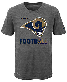 Nike  Los Angeles Rams Legend Football T-Shirt, Big Boys (8-20)