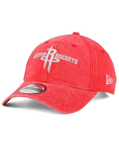 58a86a8d9714 ... New Era Houston Rockets Italian Wash 9TWENTY Dad Cap ...