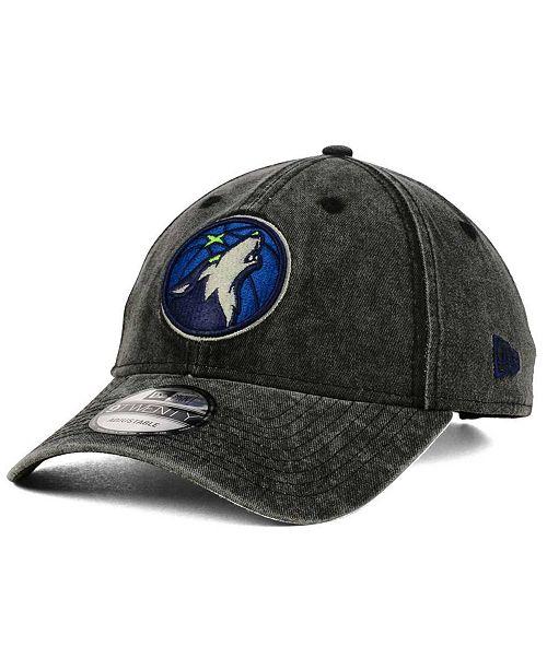 c65943936ab New Era Minnesota Timberwolves Italian Wash 9TWENTY Dad Cap - Sports ...