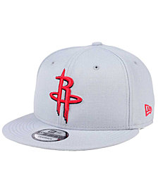 New Era Houston Rockets Solid Alternate 9FIFTY Snapback Cap