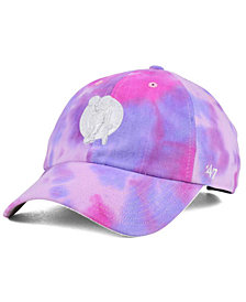 '47 Brand Boston Celtics Pink Tie-Dye CLEAN UP Cap