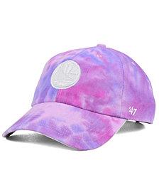 '47 Brand Golden State Warriors Pink Tie-Dye CLEAN UP Cap