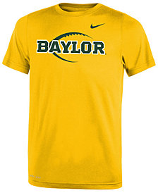 Nike Baylor Bears Legend Icon Football T-Shirt, Big Boys (8-20)