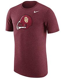 Nike Men's Oklahoma Sooners Vault Logo Tri-Blend T-Shirt
