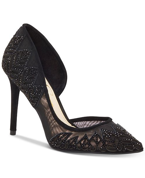 Jessica Simpson Liya d'Orsay Pumps Women's Shoes YOjnLHQrV1