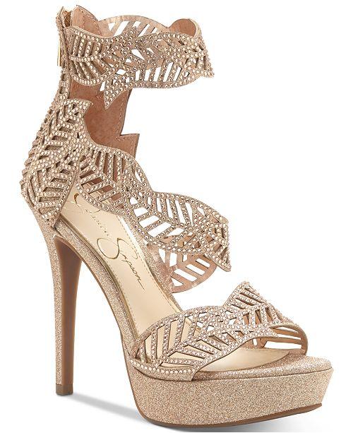6eb360b65bd Jessica Simpson Bonilynn Platform Dress Sandals   Reviews - Sandals ...
