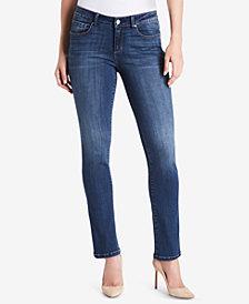 Vintage America Wonderland Slim Straight-Leg Jeans