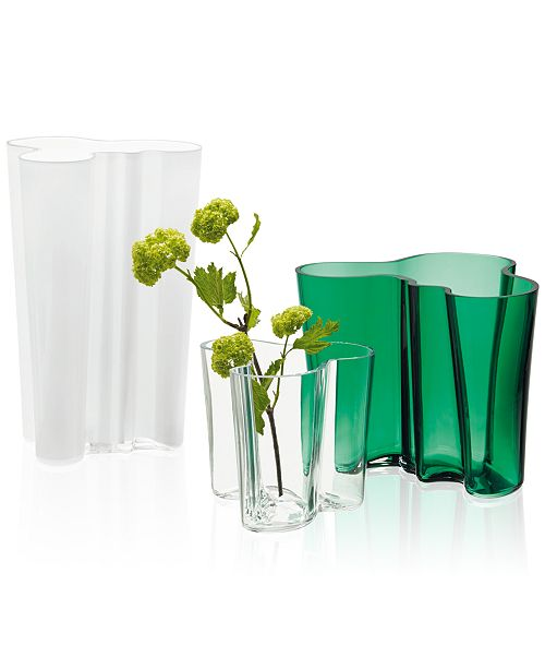 Iittala Aalto Vase Collection Bowls Vases Macys