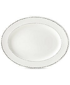kate spade new york Union Square Doodle Oval Platter