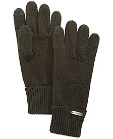 Steve Madden Solid Boyfriend Touch Gloves
