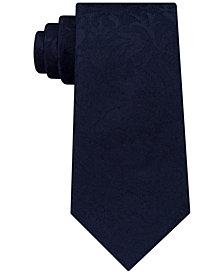 Michael Kors Men's Classic Paisley Silk Tie