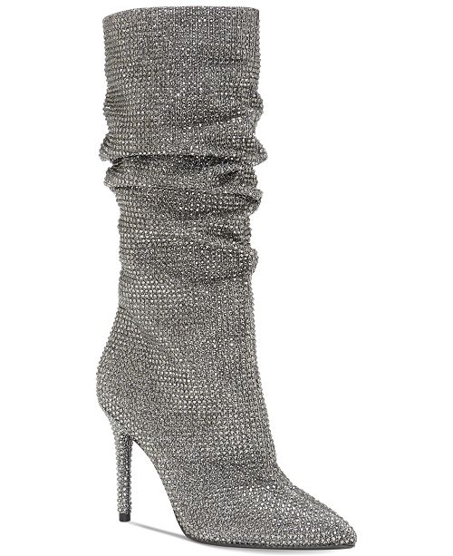 e5bd20676f3fc8 Jessica Simpson Layzer Slouchy Rhinestone Boots   Reviews - Boots ...
