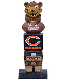 Evergreen Enterprises Chicago Bears Tiki Totem