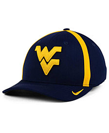 Nike West Virginia Mountaineers Aerobill Classic Sideline Swoosh Flex Cap