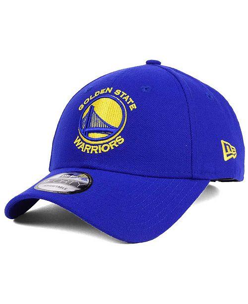 New Era Golden State Warriors League 9FORTY Adjustable Cap
