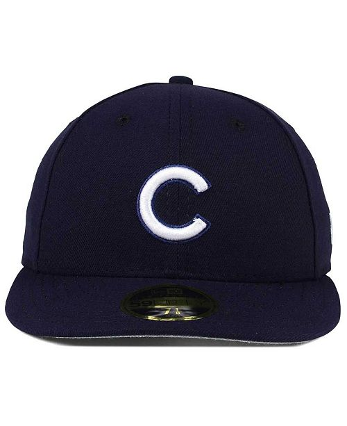 new style 010a5 abea8 germany new era. chicago cubs low profile c dub 59fifty fitted cap. be the