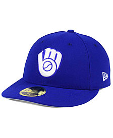 New Era Milwaukee Brewers Low Profile C-DUB 59FIFTY Fitted Cap