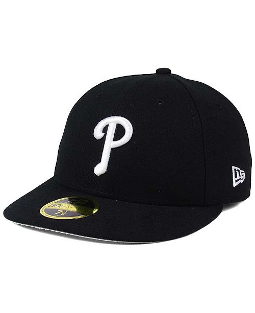 detailed look 9dd1f e8511 New Era Philadelphia Phillies Low Profile C-DUB 59FIFTY Fitted Cap ...