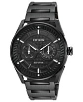 5b8fbd778e3 Citizen Drive from Citizen Eco-Drive Men s Black Stainless Steel Bracelet  Watch 42mm