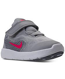Nike Toddler Girls' Revolution 3 Running Sneakers from Finish Line