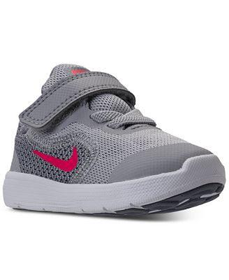 Nike Toddler Girls' Revolution 3 Running Sneakers from Finish Line