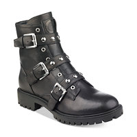 G by GUESS Prez Combat Booties (Black)