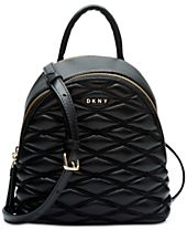 DKNY Lara Mini Quilted Leather Crossbody, Created for Macy's