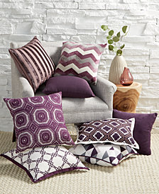 LAST ACT! Hallmart Collectibles Purple Decorative Pillow Collection
