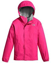 The North Face Hooded Resolve Jacket, Little Girls (4-6X) & Big Girls (7-16)