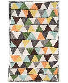 "Novogratz by Momeni Bungalow BUN01 Multi 2' 3"" x 8' Runner Area Rug"