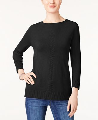 Karen Scott Petite Sweater Created For Macys Sweaters Petites