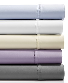 AQ Textiles Landry 4-Pc. Sheet Sets, 1200 Thread Count Combed Cotton