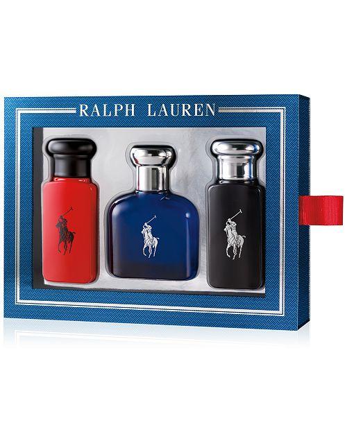 05080d60388d Ralph Lauren Men s 3-Pc. Polo Coffret Gift Set   Reviews - All ...