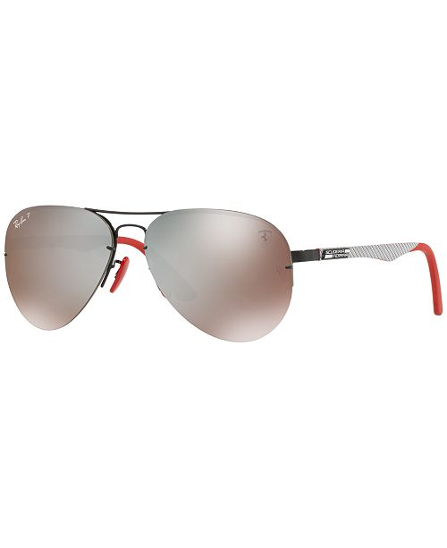2b96b4976de3 ... Ray-Ban Polarized Sunglasses , RB3460M SCUDERIA FERRARI COLLECTION ...