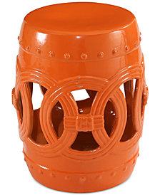 Kunis Ceramic Garden Stool, Quick Ship