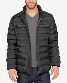 Men's Quilted Zip-Front Jacket