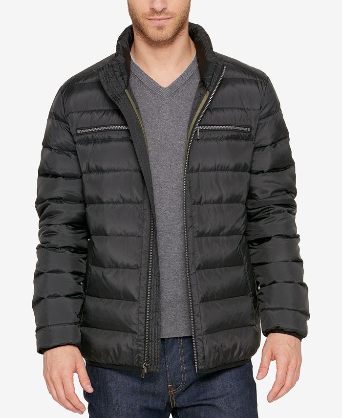 Cole Haan - Men's Quilted Zip-Front Jacket