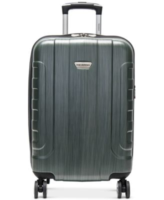 """Pacifica 21"""" Hardside Carry-On Spinner Suitcase, Created for Macy's"""