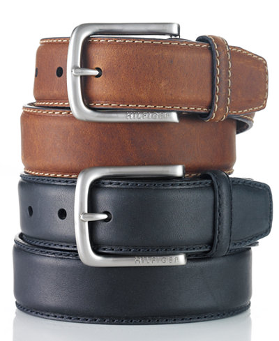 Tommy Hilfiger Leather Casual Men's Belt