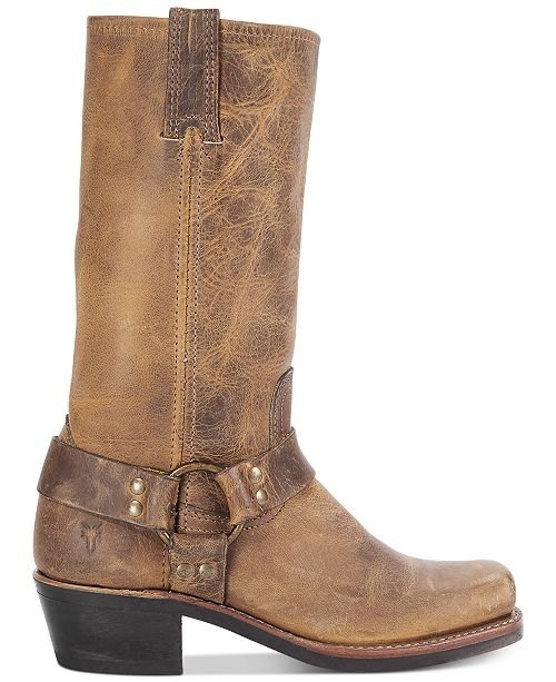 d82194f0240 Frye Women s Harness 12R Boots   Reviews - Boots - Shoes - Macy s