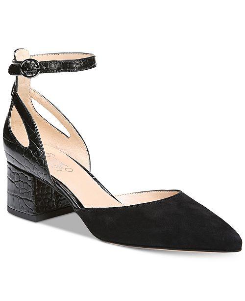 Franco Sarto Caleigh Ankle Strap Sandal (Women's) CJYWOB